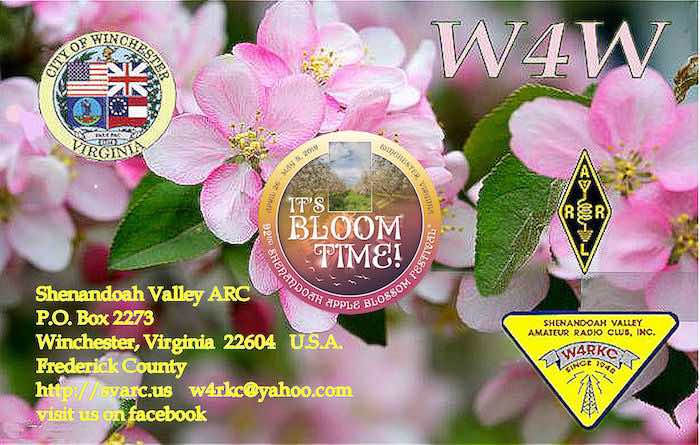 Special Event Station W4W: Apple Blossom