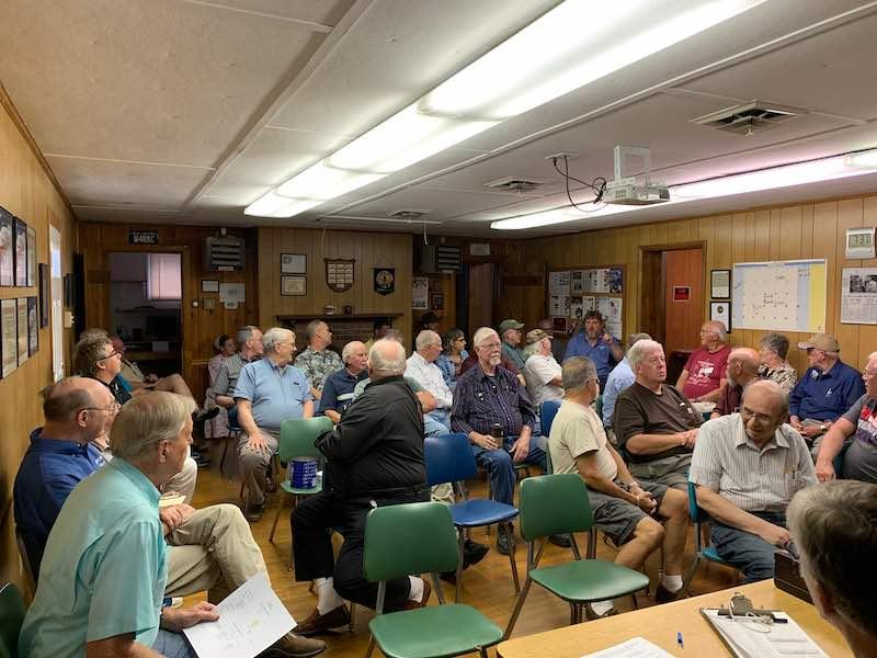 SVARC club meeting with Riley Hollingsworth speaker