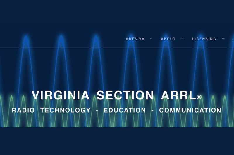 NEW ARRL Virginia Section Website