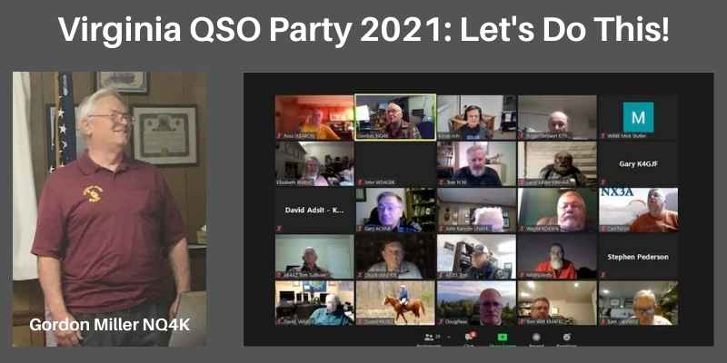 2021 Virginia QSO Party – Let's Do This!