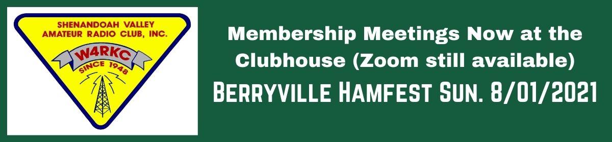 Shenandoah Valley Amateur Radio Club