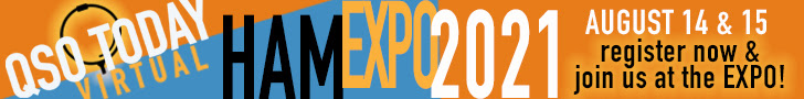 QSO Today Virtual Ham Expo 2021 this weekend!